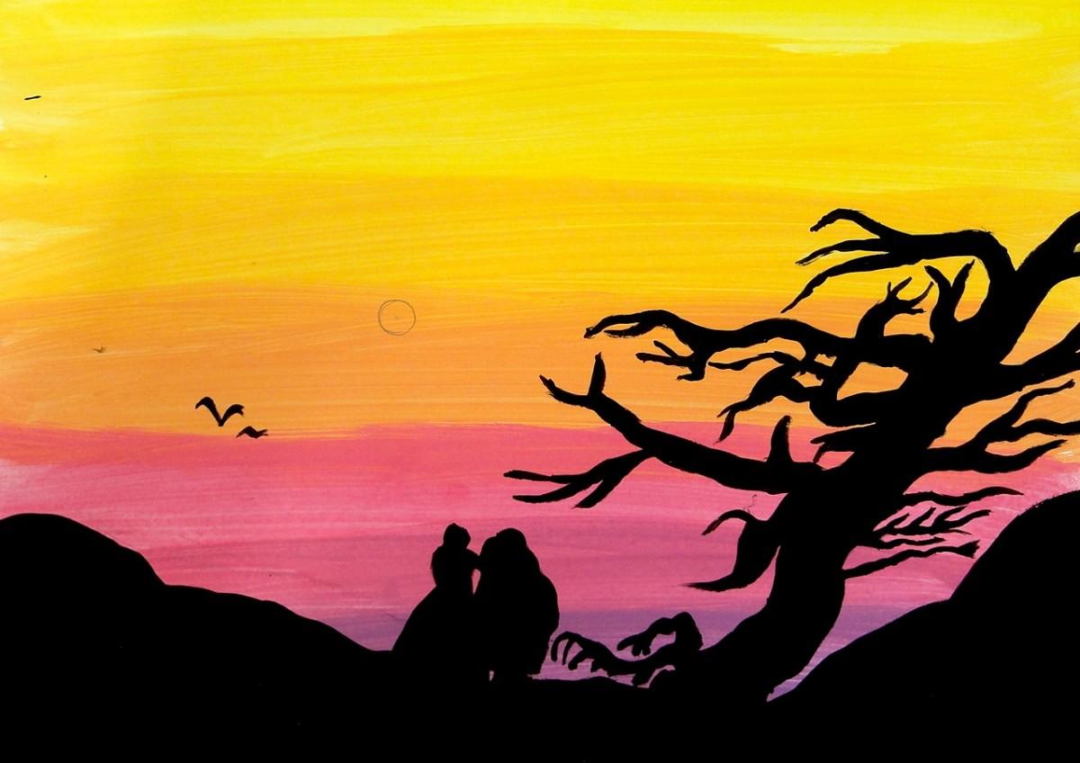 Disegno spirito del romanticismo classi iii - Immagine dell albero a colori ...