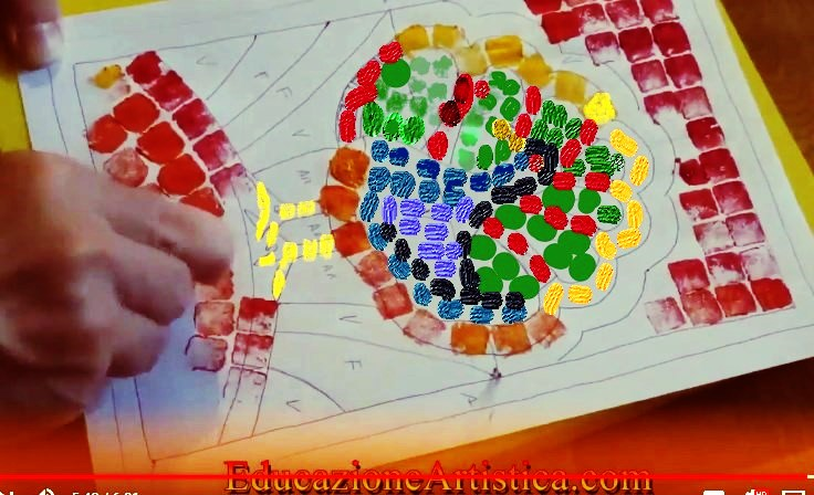 "Photo of MOSAICO ""ALTERNATIVO""- laboratorio tutorial video per 2^A"