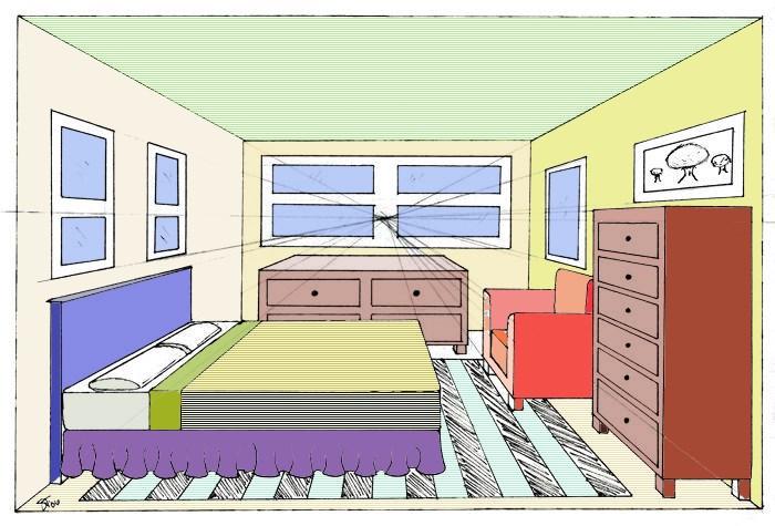 Educazioneartistica com arte e immagine a scuola for Disegnare piantina stanza