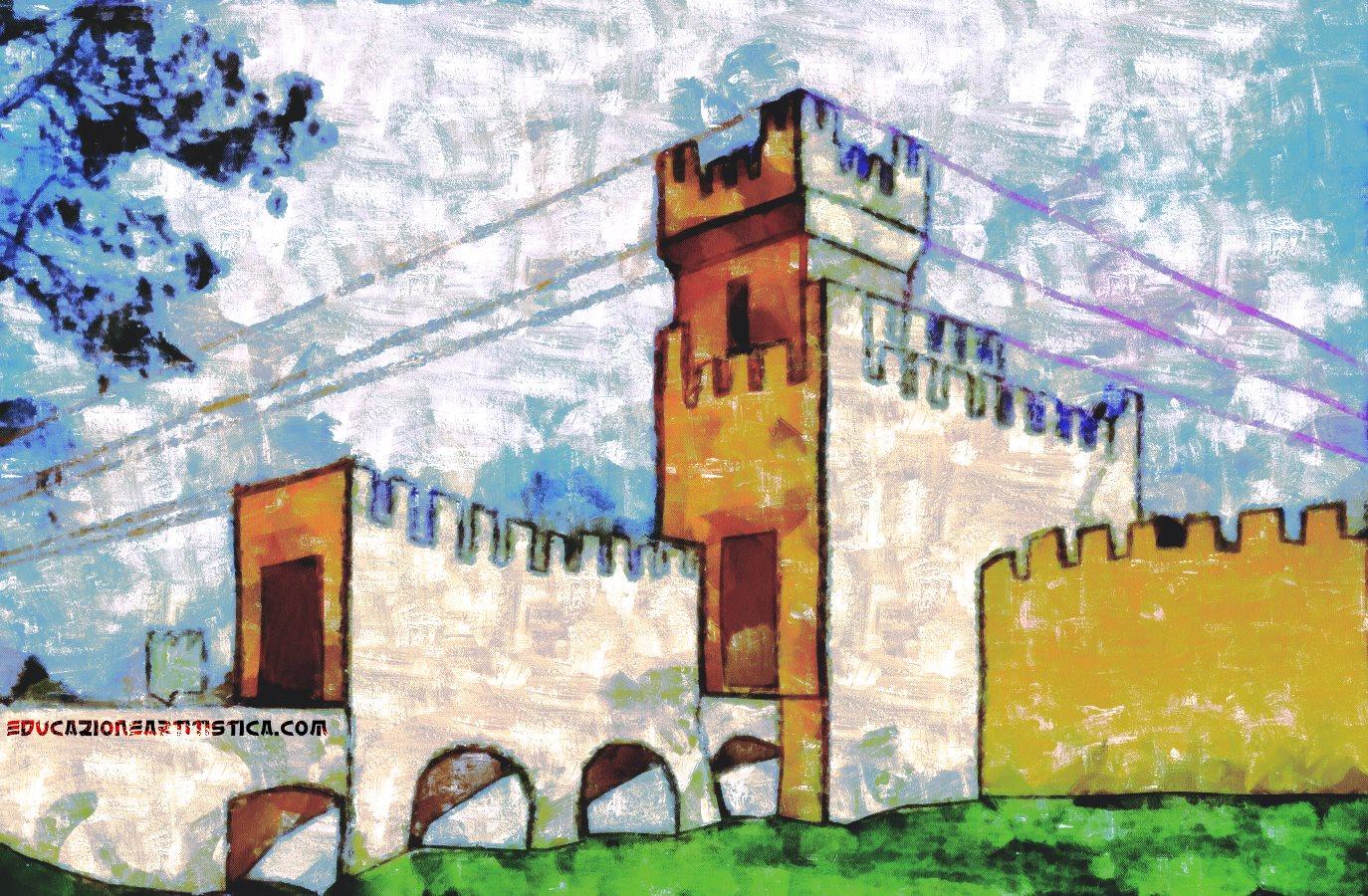 Photo of Disegnare la Rocca degli Alberi di Montagnana – prospettiva intuitiva