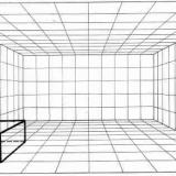 Esempi Di Prospettiva Centrale Di Un Interno Classi Iii Arte Immagine Educazione Artistica Com