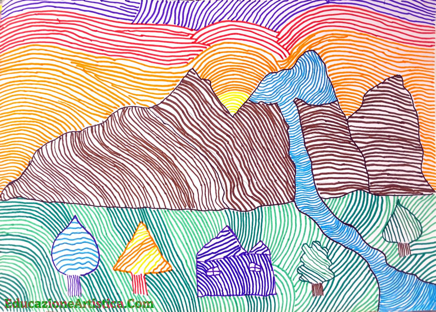"""Photo of La linea """"creativa"""" – Paesaggi di linee"""